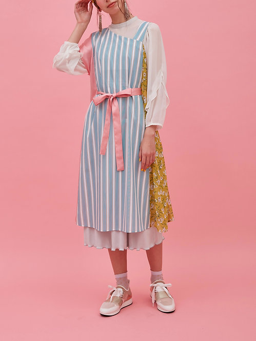 Mix apron ドレス_ OP0421_3月