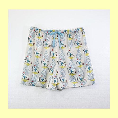 Room Shorts_恐竜アイボリーPT0302