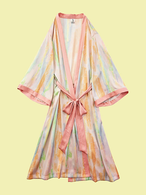 Kimono Robe_マーブルアートRB0180
