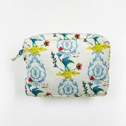 MAKEUP POUCH/ 恐竜IVORY