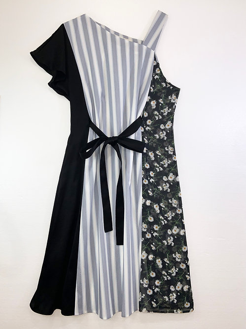 Mix apron ドレス_ OP0499_3月