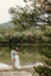 Echo Lake New Hampshire Anniversary session