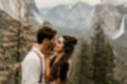 Yosemite intimate adventure wedding