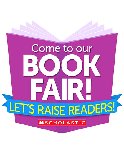 Come to our Book Fair! Let's Raise Readers.