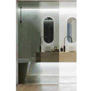 ระบบประตูกึ่งอัตโนมัติ บานกระจก