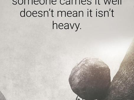 A Heavy Load!