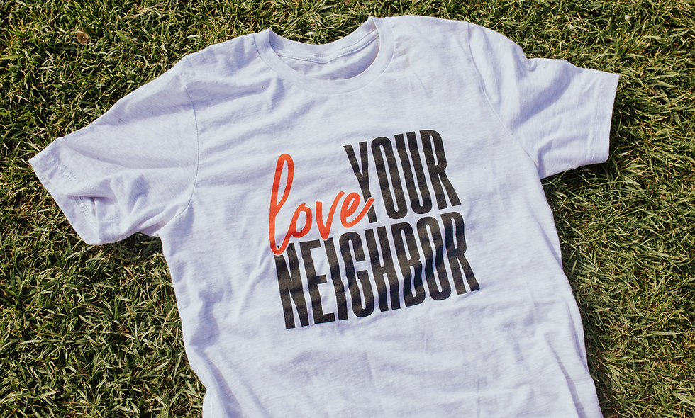Love Your Neighbor Tee (Ash Grey)