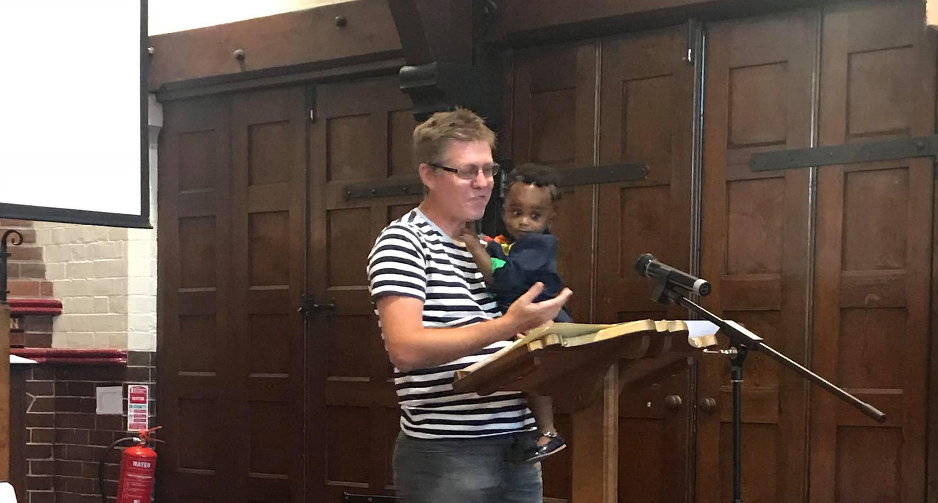 Helping with a sermon