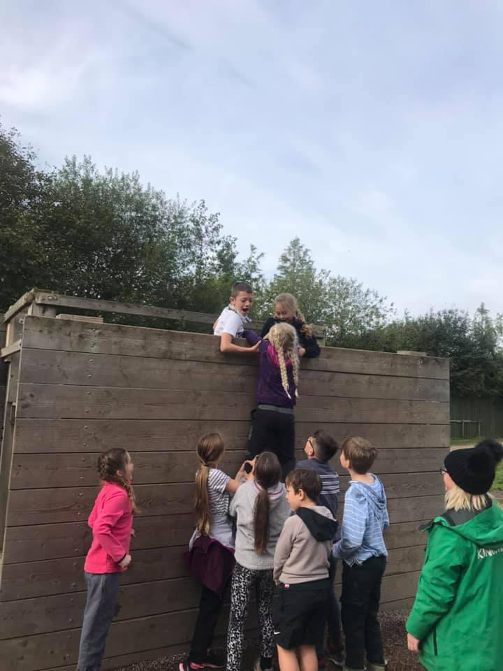 Juniors at the Battalion Adventure Weekend 2019