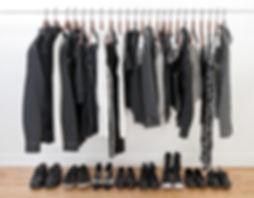 closet organization, wardrobe consultation, professional organizing