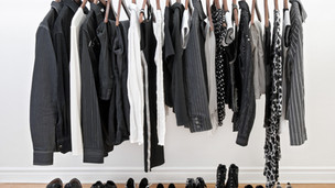 Nothing to wear? B&W with a splash of colour!