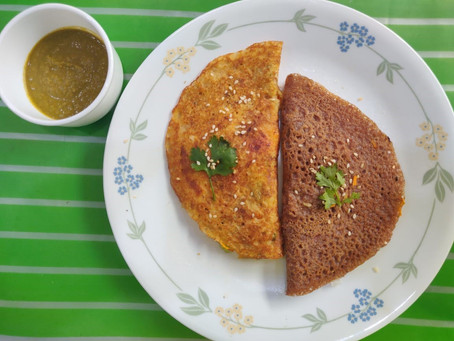 Recipe: Leftover Dal Cheela
