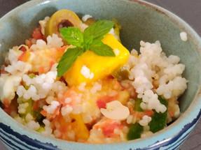 Recipe: Mango Millet Veggie Salad