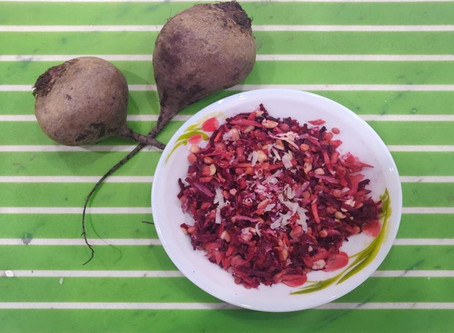 Recipe: Beetroot Lentil Salad