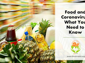 Food and Coronavirus: What You Need to Know
