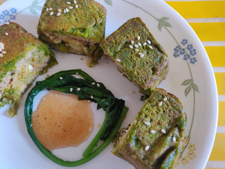 Recipe: Healthy Palak Bread Pakora