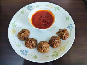 Recipe: Ragi & Whole Wheat Paneer Momos