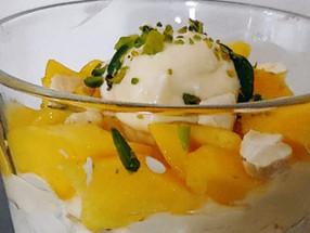 Recipe: Triple-Decker Mango Pudding