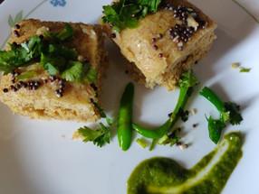 Recipe: Millet Dal Dhokla
