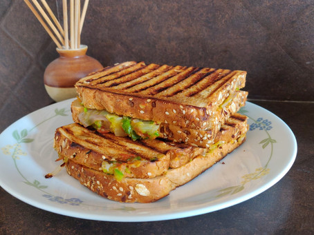 Recipe: Veggie Soya Sandwich