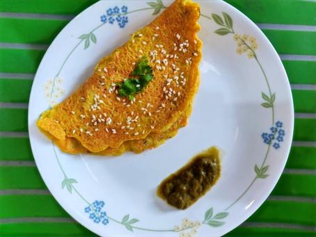 Recipe: Proso Millet Cheela