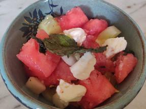 Recipe: Watermelon Cucumber Salad