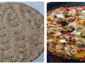 Recipe: Ragi Whole Wheat Pizza Base