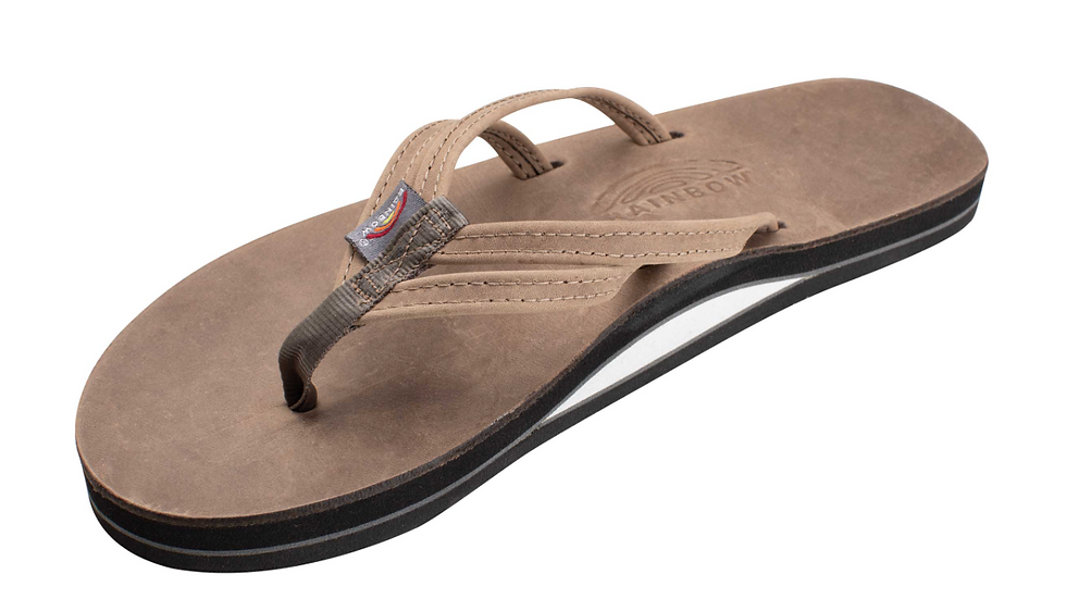 Womens  The Sandpiper - Luxury Leather Layer Arch Support with a Double N