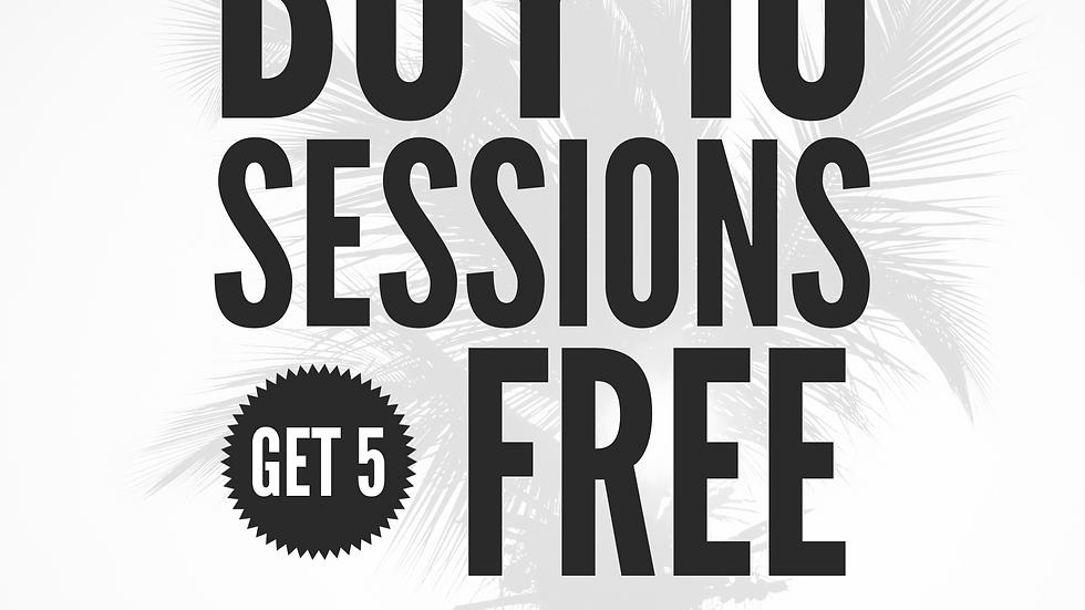 Buy 10 Horizon Sessions get 5 free