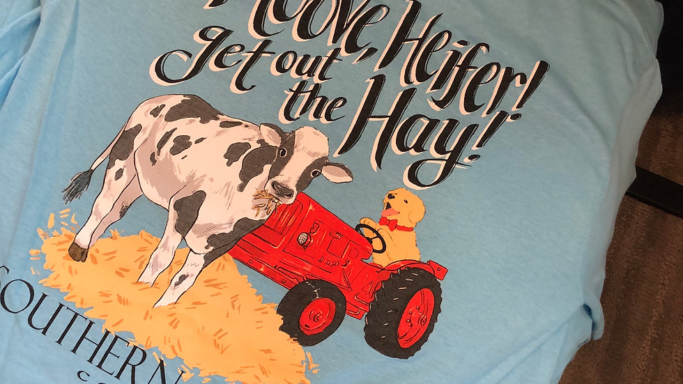 Souther Attitude Moove Heifer T-shirt