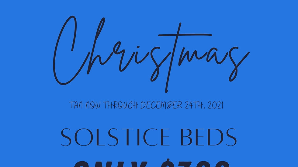 TAN TILL CHRISTMAS SOLSTICE BED PACKAGE