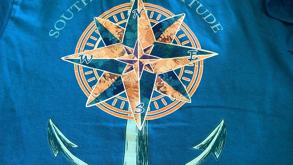 Souther Attitude Little Sweet Little Salty Anchor T-shirt