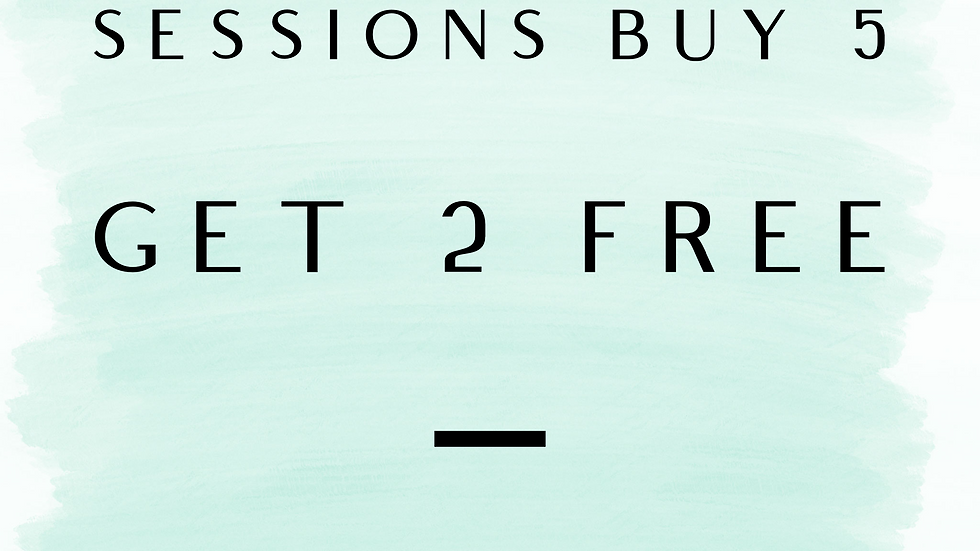 Buy 5 Solstice Sessions get 2 free