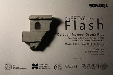 Flyer Esto No es un flash (actualizado).