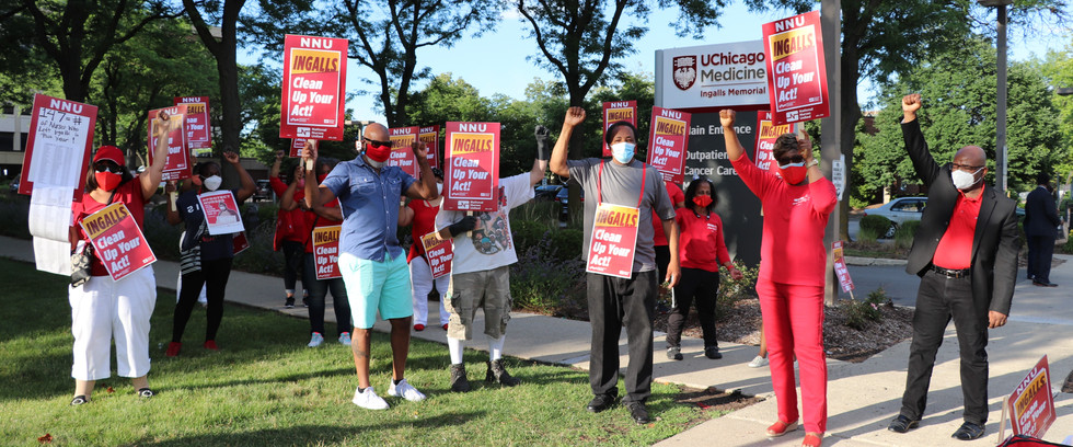 Ingalls Nurses win first contract!