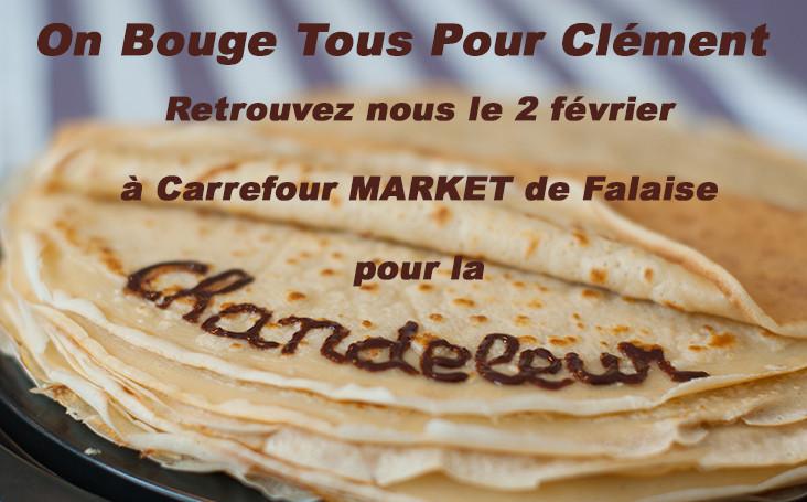 Chandeleur à Carrefour Market Falaise