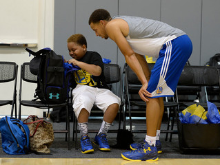Stephen Curry Continues To Amaze and Inspire