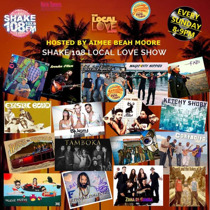 Zona de Bomba on Shake 108FM Miami!