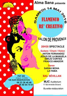 FLAMENCO RÉ'CREATIVO À SALON-DE-PROVENCE