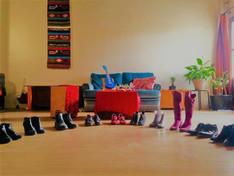 Stage de flamenco à L'Atelier sous le platane