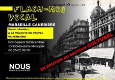 Flash Mob dansant sous L'Ombrières du Vieux-Port