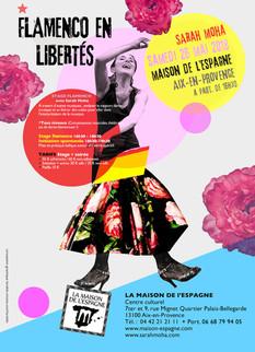 Flamenco en libertés ! à  La Maison de l'Espagne le 26 mai