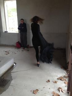 Performance au Lavoir de Calas