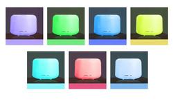 Lamone Electric Diffuser 500ml 7 LED colors