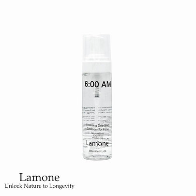 Lamone 6:00 AM Foaming One Step Cleanser 200 ml