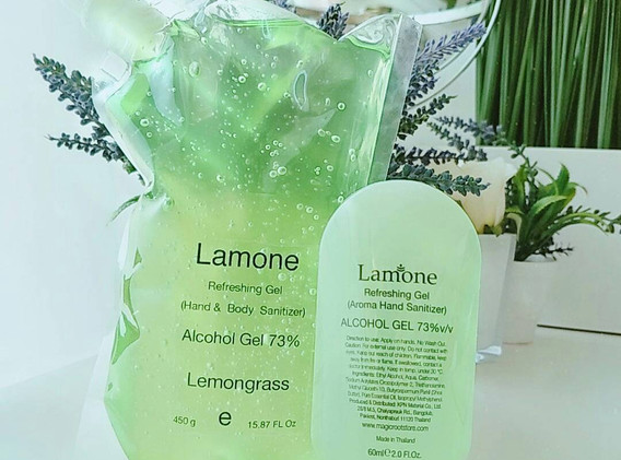 Lemongrass - Alcohol Gel