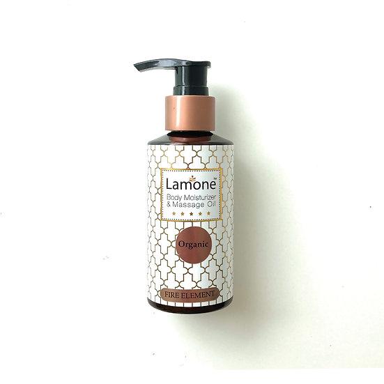 Lamone Organic Massage Oil 150ml: Fire Element