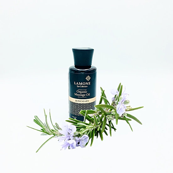 Lamone Organic Body Massage Oil 150ml :Rosemary59