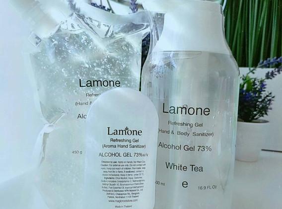 White Tea Family - Alcohol Gel