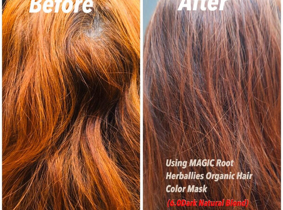 Magic Root Cover Grey Hair Testimonial